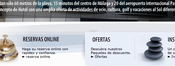 RaiN lanza la web del Hotel Cala Bahia