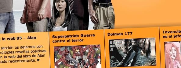 RaiN lanza la web de la Editorial Dolmen